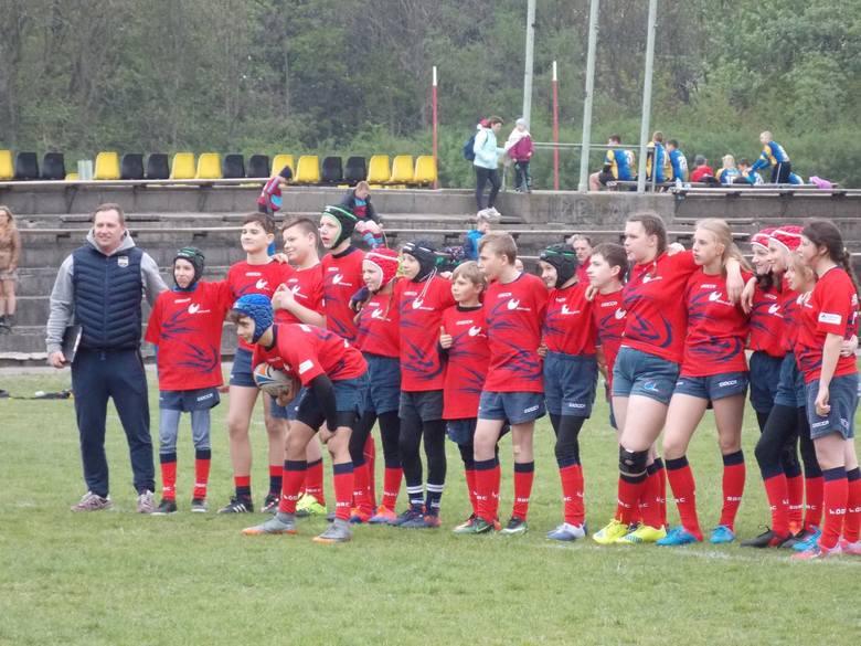 Skierniewiccy rugbyści rozpoczęli rywalizację [ZDJĘCIA]