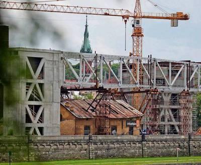 Do katastrofy budowlanej nie dojdzie - uspokaja Andrzej Juszczyk FOT. ANDRZEJ BANAŚ