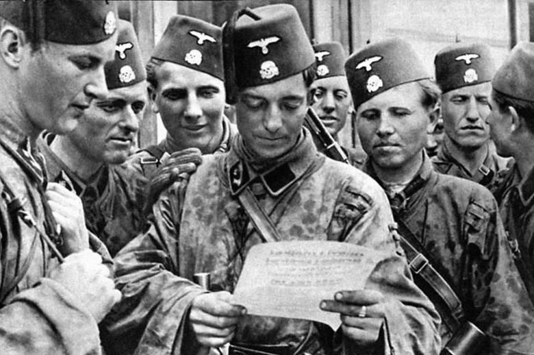 """""""Islam i żydostwo"""" - lektura propagandowej broszury przygotowanej przez Niemców dla dywizji """"Handschar"""