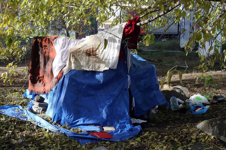 Przyjezdnych Szczecin wita widokiem namiotu Opery oraz namiotu  bezdomnych. W czwartek w sali sesyjnej magistratu obbyło się specjalne spotkanie dotyczące