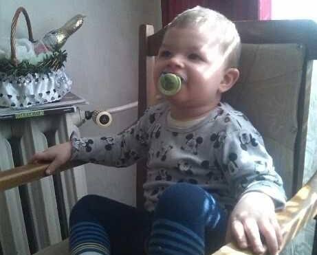 Najmłodszy z dzieci, Michałek, miał 2 miesiące, gdy w wypadku zginęła jego mama.