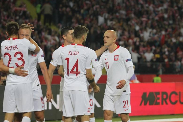 11102018 chorzow mecz reprezentacji polska portugalia na stadion slaski nz rafal kurzawaarkadiusz gola   polska press