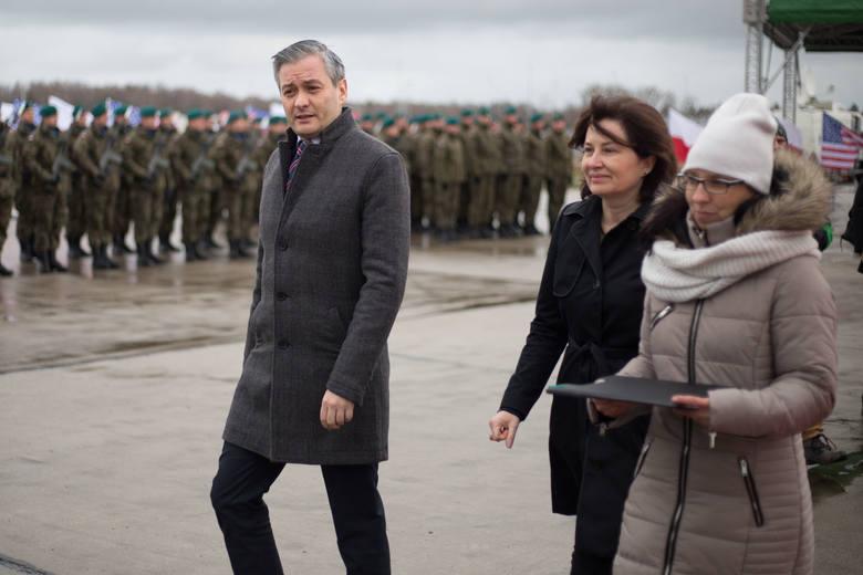 Ważne uroczystości na terenie bazy w Redzikowie.