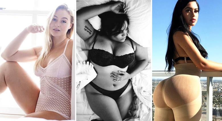 """Piękne, seksowne ciała. Modelki """"plus size"""" prezentują swoje wdzięki na Instagramie. Oto nasz subiektywny przegląd najbardziej gorących"""