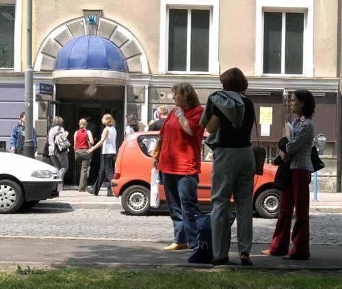 Budynek Wydziału Ekonomii przy Pl. Ofiar Getta. Niektórzy studenci UR zastanawiają się, czy dzięki egzaminowi kolegów z trzeciego roku uczelnia trafi