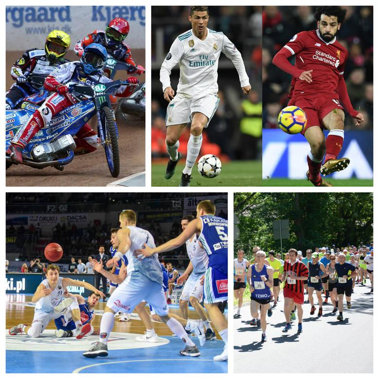 Ten weekend zapowiada się niesamowicie. Fani sportu nie będą się nudzili. Jest wiele imprez piłkarskich, siatkarskich, koszykarskich, żużlowych i rekreacyjnych.