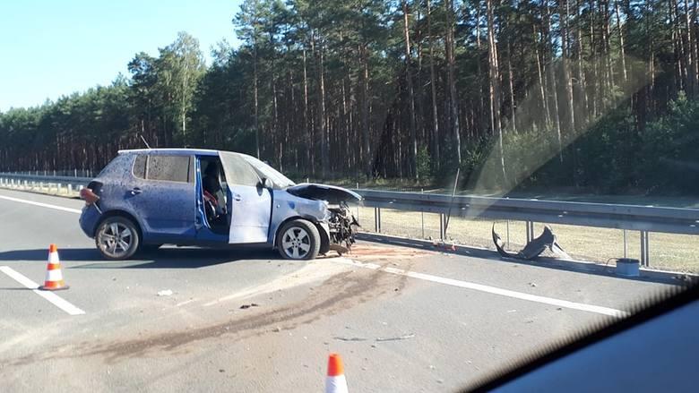 W niedzielę, 30 czerwca, kierowcy nie mają łatwej jazdy po lubuskim odcinku drogi S3. Najpierw między Sulechowem, a Świebodzinem zapalił się samochód