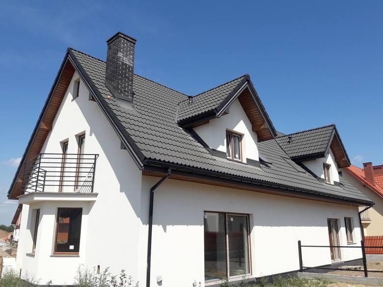 Dach wykonany przez firmę Systemdach