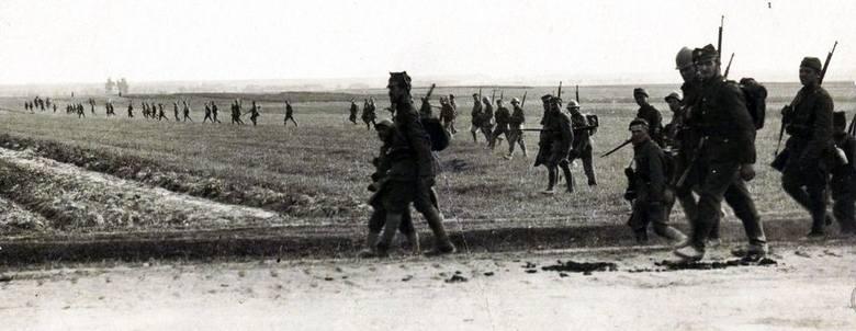 Naród polski porwał się jednak do broni, zrobił ogromny wysiłek (J. Piłsudski)