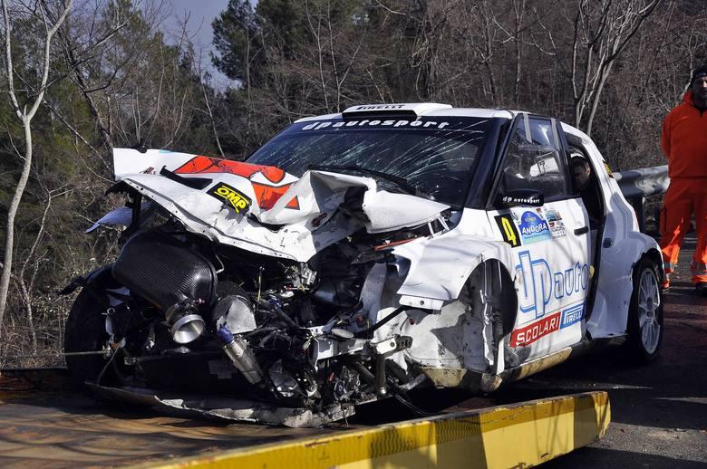 Jego karierę w Formule 1 zatrzymał Rajd Ronde di Andora (6 lutego 2011 roku). Jadąc Skodą Fabią w barwach zespołu DP Autosport, Kubica uderzył w barierę,