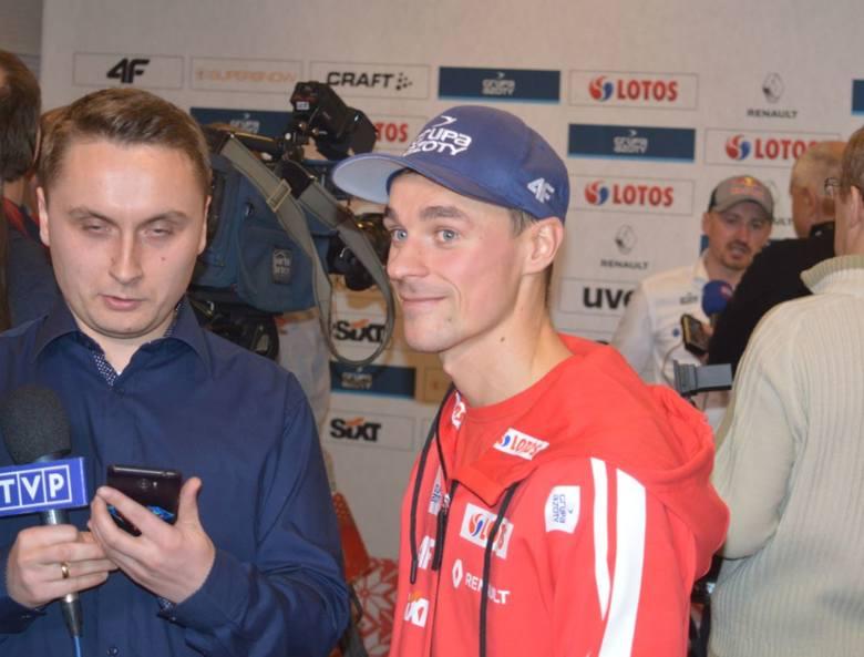 W Wiśle odbyło się spotkanie polskiej kadry A z przedstawicielami mediów.