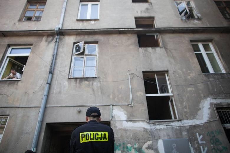Pożar przy ul. Abramowskiego