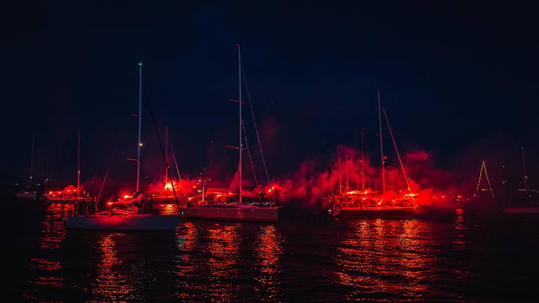 Święto Morza 2019 w Gdyni. Nocna Parada Żeglarska, 22 czerwca 2019