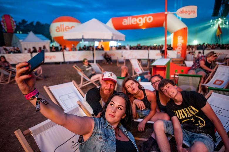 Allegro na Pol`and`Rock Festiwal: morze atrakcji, bez morza plastiku