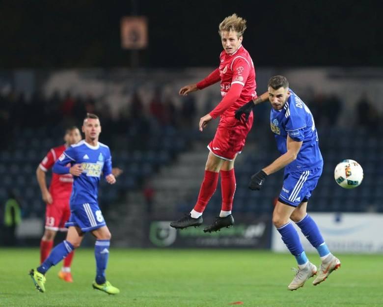Mateusz Michalski zagrał w Chorzowie dopiero od 84 minuty