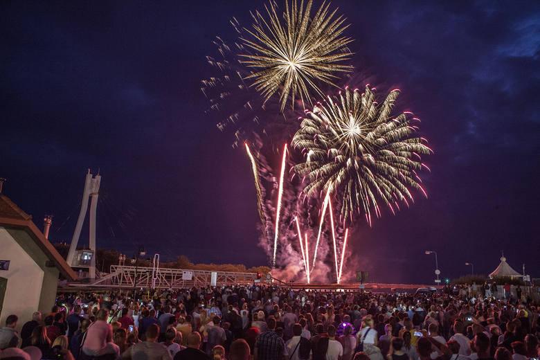 Pierwszy dzień Lech Fire Festiwal w Ustce