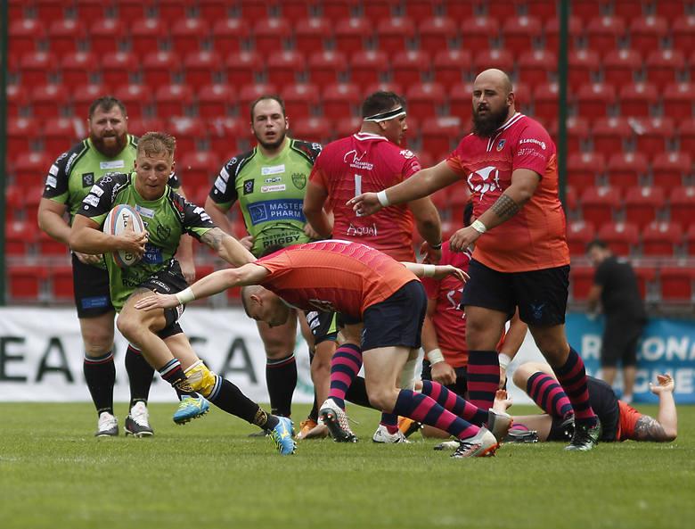 Ekstraliga Rugby. Czy do hitowego meczu dojdzie dopiero na początku maja?