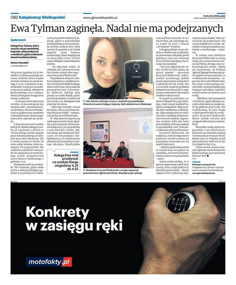 Wydarzenia 2015 roku: Zaginięcie Ewy Tylman, skok stulecia czyli kradzież 8 mln zł, śmierć Jana Kulczyka i ojca Jana Góry