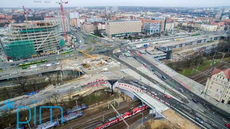 Inwestycje w Poznaniu z lotu ptaka