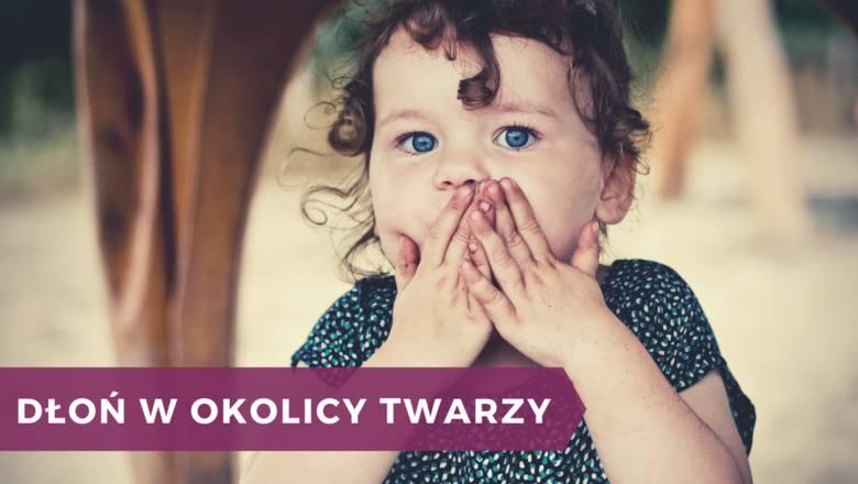 """To odruch bezwarunkowy. Kiedy dziecko powie coś niewłaściwego lub skłamie, często zasłania usta, jakby gest ten współgrał z myślą """"co a powiedziałem?""""."""