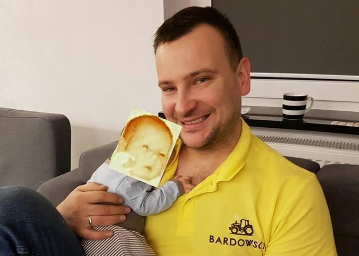 Grzesiek z Rolnik szuka żony pokazał zdjęcie syna, ale.. (zdjęcia)