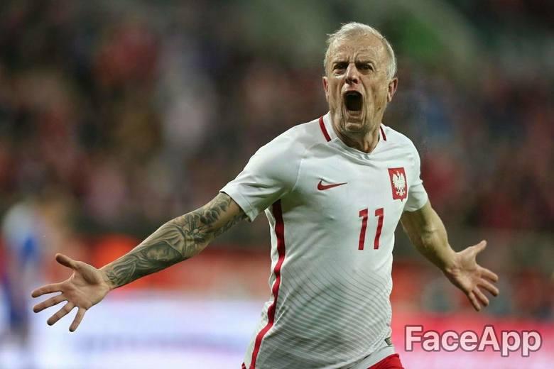 Jak będą wyglądać reprezentanci Polski, gdy będą starzy?