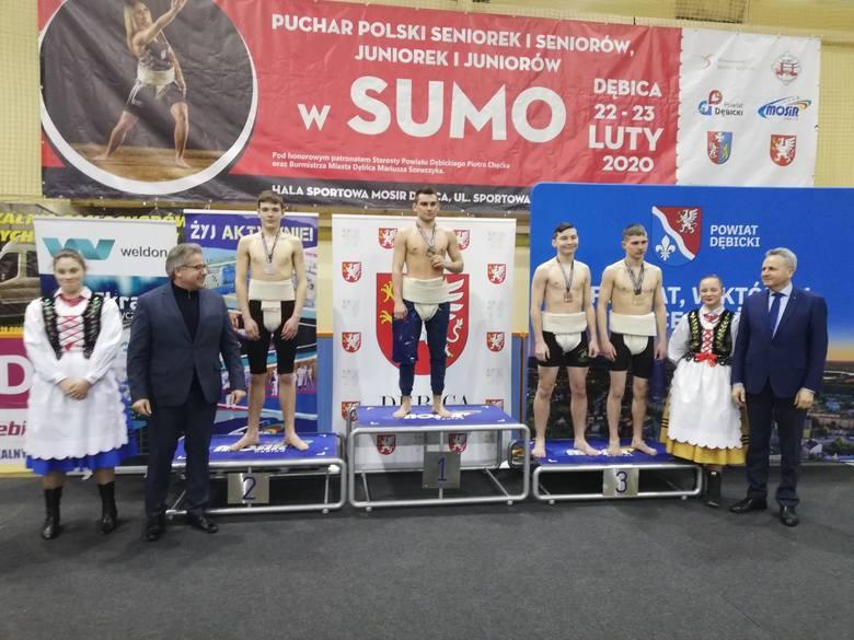 Puchar Polski w sumo w Dębicy