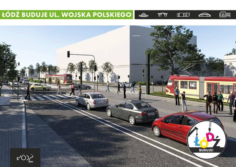 Urząd Miasta Łodzi ogłosił przetarg na przebudowę ulicy Wojska Polskiego. Oferty można składać do 12 lutego. To jedna z większych przyszłorocznych drogowych