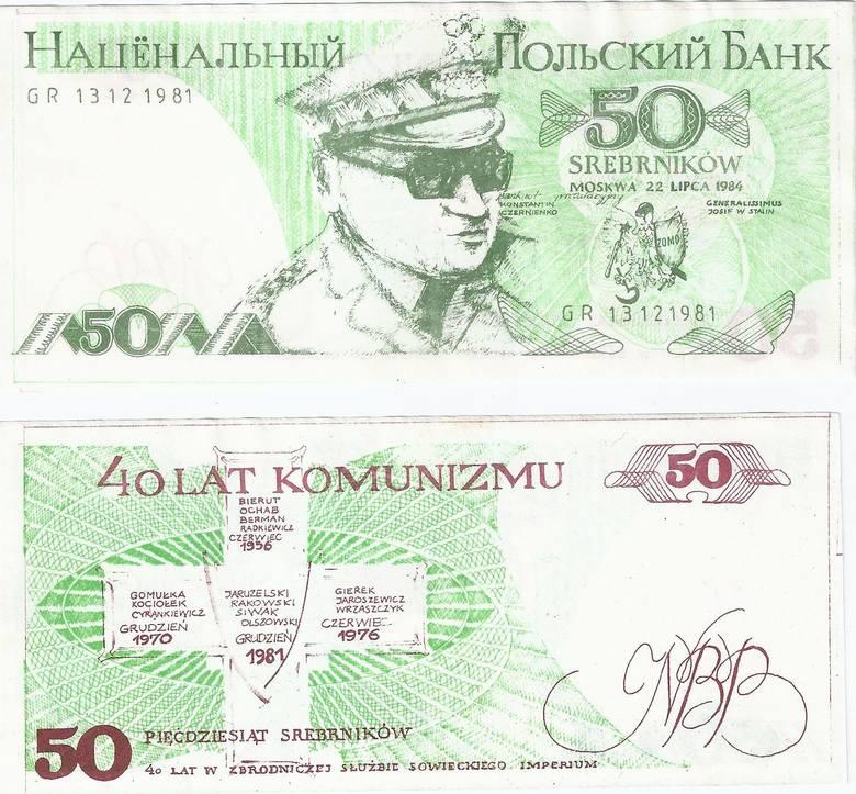 """Banknoty podziemnej """"Solidarności"""". Powstawały w konspiracyjnych drukarniach w całej Polsce"""