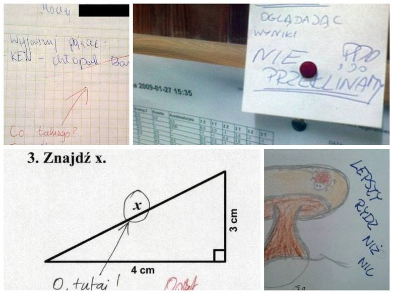 Najlepsze kwiatki i hity ze sprawdzianów i kartkówek - w internecie jest ich cała masa. Zobaczcie, jakie odpowiedzi znajdują nauczyciela na kartkówkach.