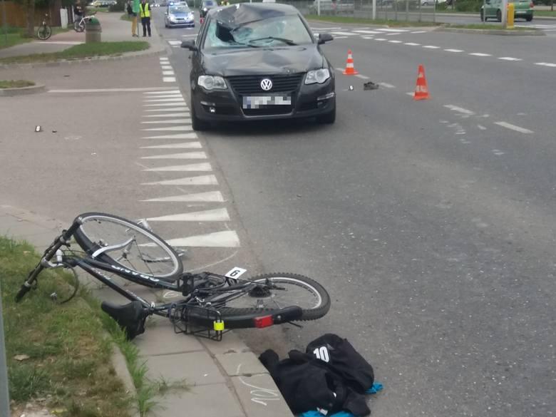 Do śmiertelnego wypadku doszło w Suwałach na ulicy Reja w piątek po południu.
