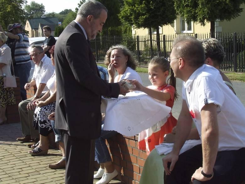 Gminne i powiatowe dożynki w Sicienku