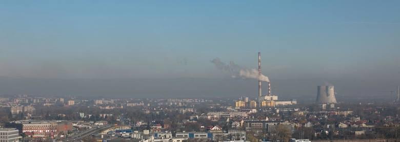 Smog nad Krakowem