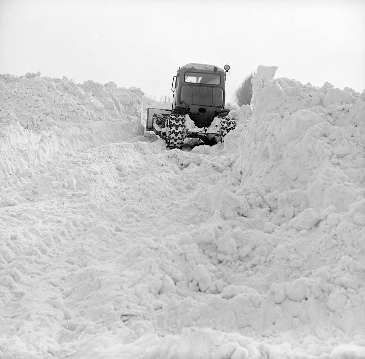 Zima przełomu lat 1978/1979 była wyjątkowo śnieżna. Od godzin nocnych z 29 na 30 grudnia rozpoczął się napływ mroźnej masy powietrza z północy, co spowodowało,