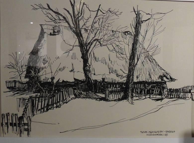 Stodoła w Wilkowyjach, rok 1969