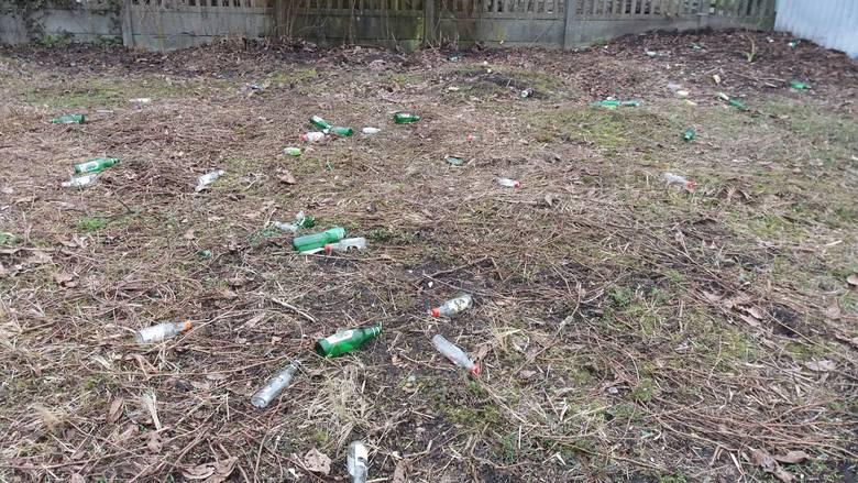 W Łodzi mnóstwo jest miejsc, które wyglądają, jak wysypiska śmieci