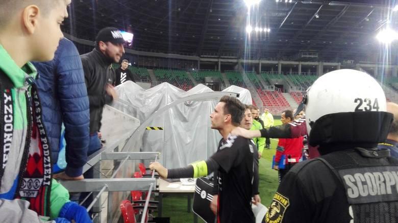 GKS Tychy – Sandecja Nowy Sącz 0:1. Wściekli kibice wyzywali piłkarzy RELACJA + ZDJĘCIA + OPINIE