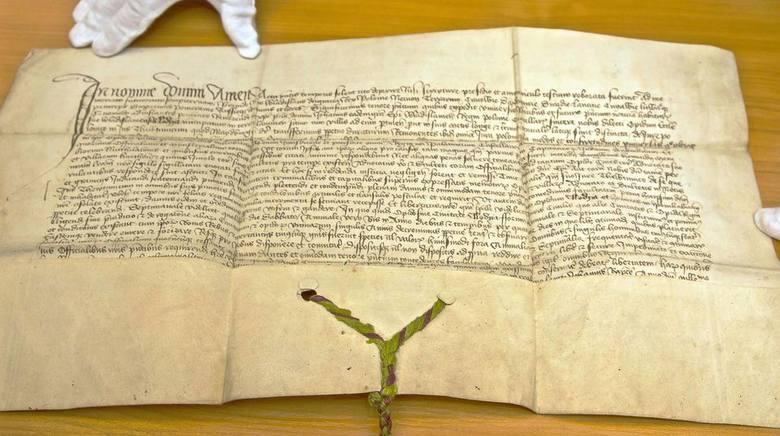 Przywilej renowacyjny dla Łodzi z 1433 roku, podpisany przez króla Władysława Jagiełłę odnaleziony