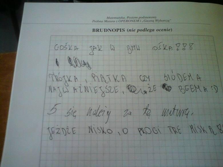 Nauczyciel płakał jak poprawiał: Najlepsze teksty uczniów i nauczycieli Kliknij tutaj i przejdź do kolejnego zdjęcia --->