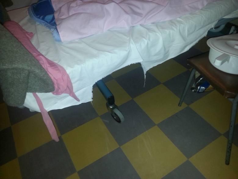 Szpital obiecywał, że problemy się skończą, bo póki co jest w trakcie remontu.