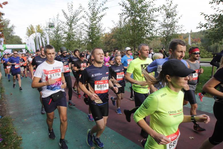 PKO Silesia Półmaraton 2018: uczestnicy przebiegli dziś, 7 października, nieco ponad 21 km. Obie imprezy zakończą się o 15.30 na Stadionie Śląskim. Półmaraton