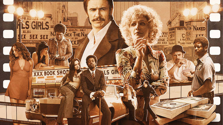 """10. """"Kroniki Times Square""""To odważny serial HBO podejmujący tematykę jednego z najbardziej dochodowych po dziś dzień biznesów, jakim"""
