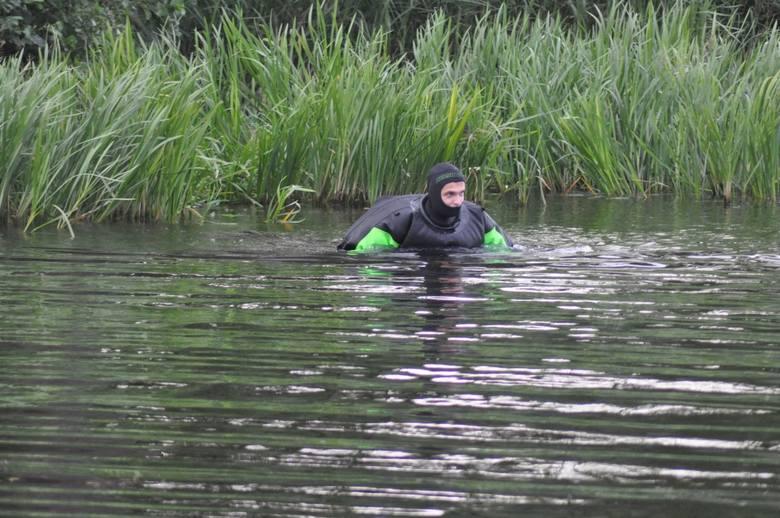 Poszukiwania na jeziorze Trzesiecko