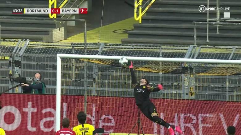 Wybitna podcinka. Gol Joshuy Kimmicha w meczu Borussia Dortmund - Bayern Monachium [WIDEO]