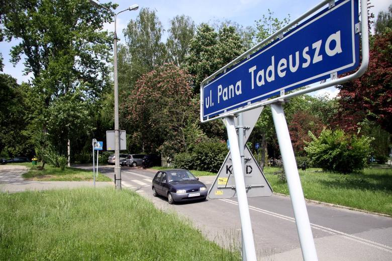 Pana Tadeusz zmienia kierunek. W najbliższą sobotę dojazd od strony ul. Grażyny