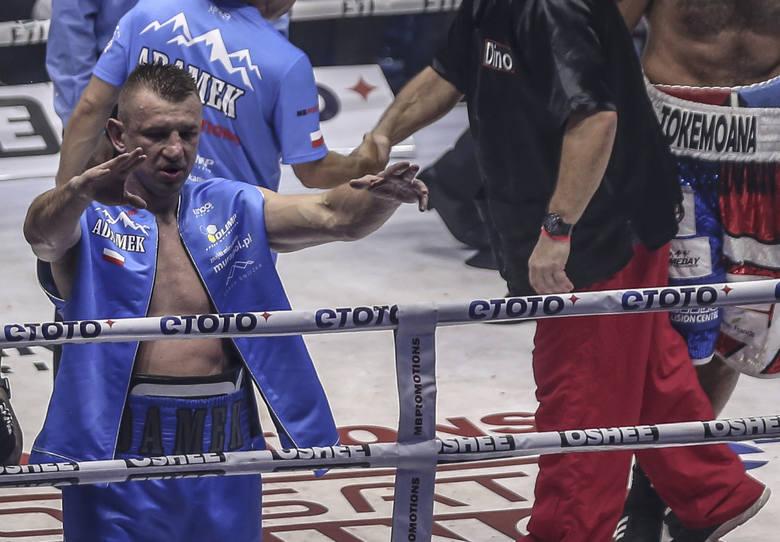 Tomasz Adamek zapowiada szybki powrót do ringu