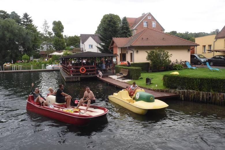 Jeziora Łagowskie i Ciecz w cieniu zamku joannitów