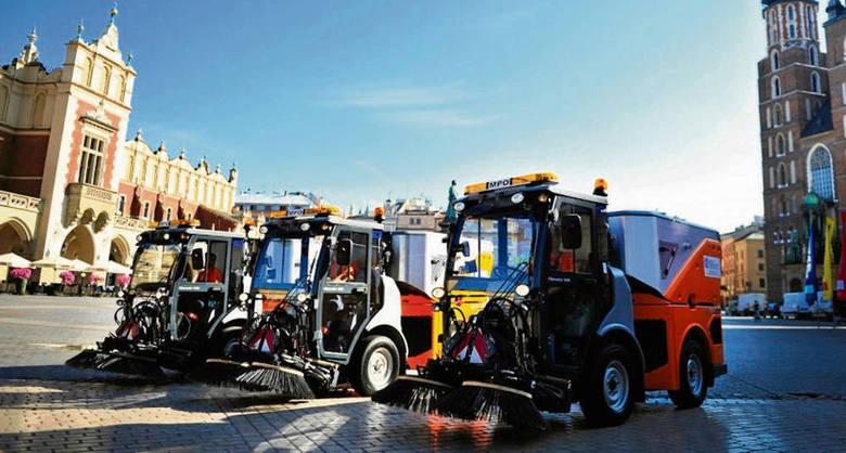 Ekipy sprzątające będą patrolować miasto i reagować na bieżąco