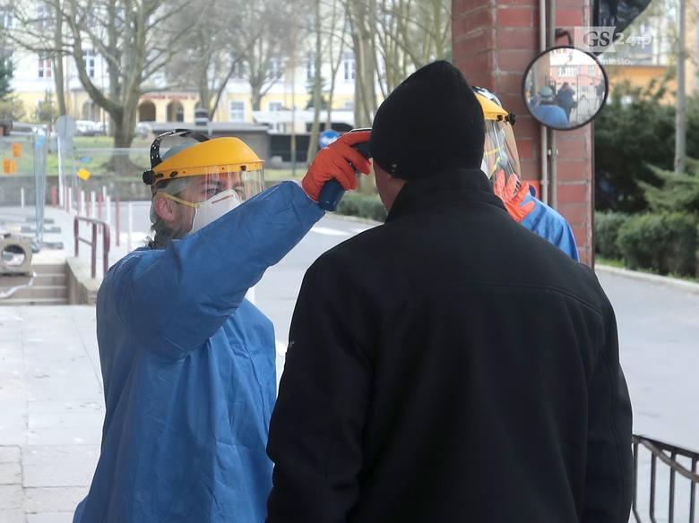 Koronawirus w Szczecinie: Szczecińskie szpitale przeciwko koronawirusowi. Pomorzany na trzy zmiany - 16.03.2020