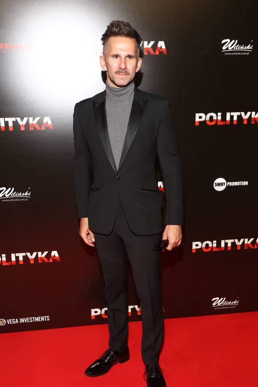 """""""Polityka"""" - nowy hit Patryka Vegi wchodzi do kin. Tak wyglądała uroczysta premiera w Warszawie [ZDJĘCIA]"""